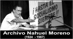 Obras de Nahuel Moreno