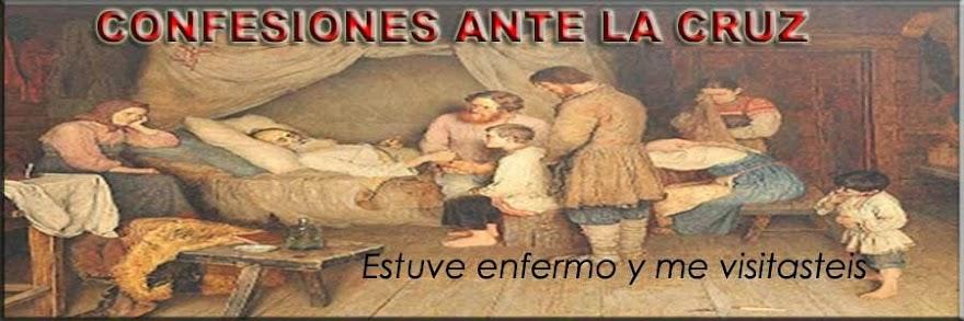 CONFESIONES ANTE LA CRUZ