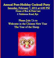 POST HOLIDAY COCKTAIL PARTY to BENEFIT STUDENT OUTREACH PROGRAM