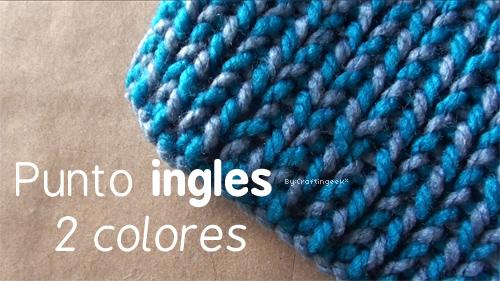 Puedes hacer esta bufanda para ti o regalar en esta época de frío.