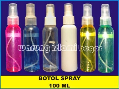 Jual Botol Spray Plastik 100ml Kosong