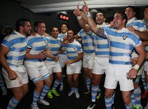 Plantel de Los Pumas para la Copa Personal