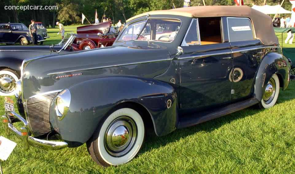 We Love Mercurys Past  Present And Future     1940 Mercury Eight