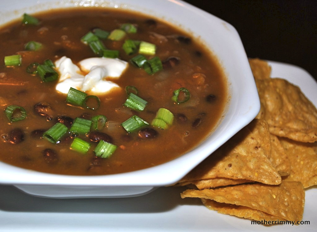 ... Style: Meatless Monday Meal: Black Bean and Butternut Squash Soup