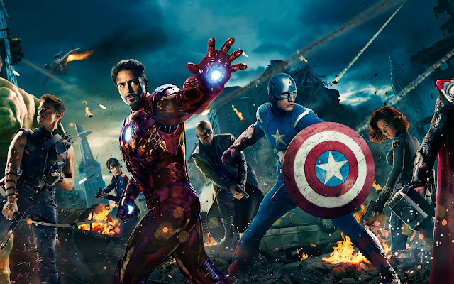 The Avengers, Hawkeye, Captain America, Iron Man