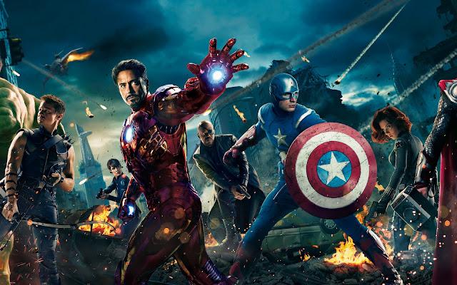 The Avengers, Hawkeye, Captain America, Iron Man