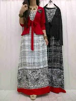 Gamis Spandex Rayon + Cardi SOLD OUT