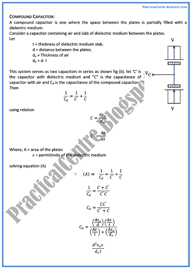 electrostatics-theory-notes-physics-12th