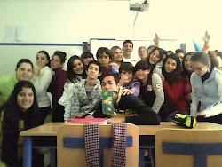 2º ESO D students 2012-2013