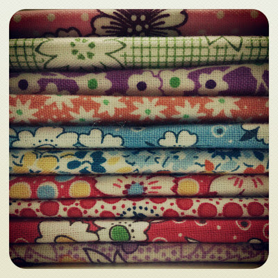 fabric, flowers, stacks, Haafner, instagram