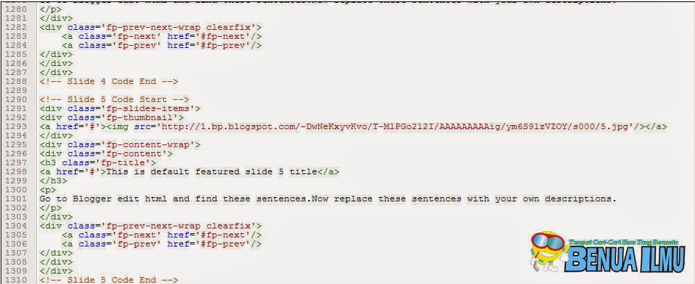 Kenapa Tidak Bisa Edit HTML di Template Blog