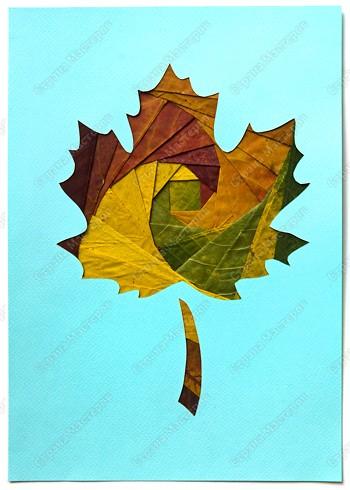 Кленовый лист для поделок