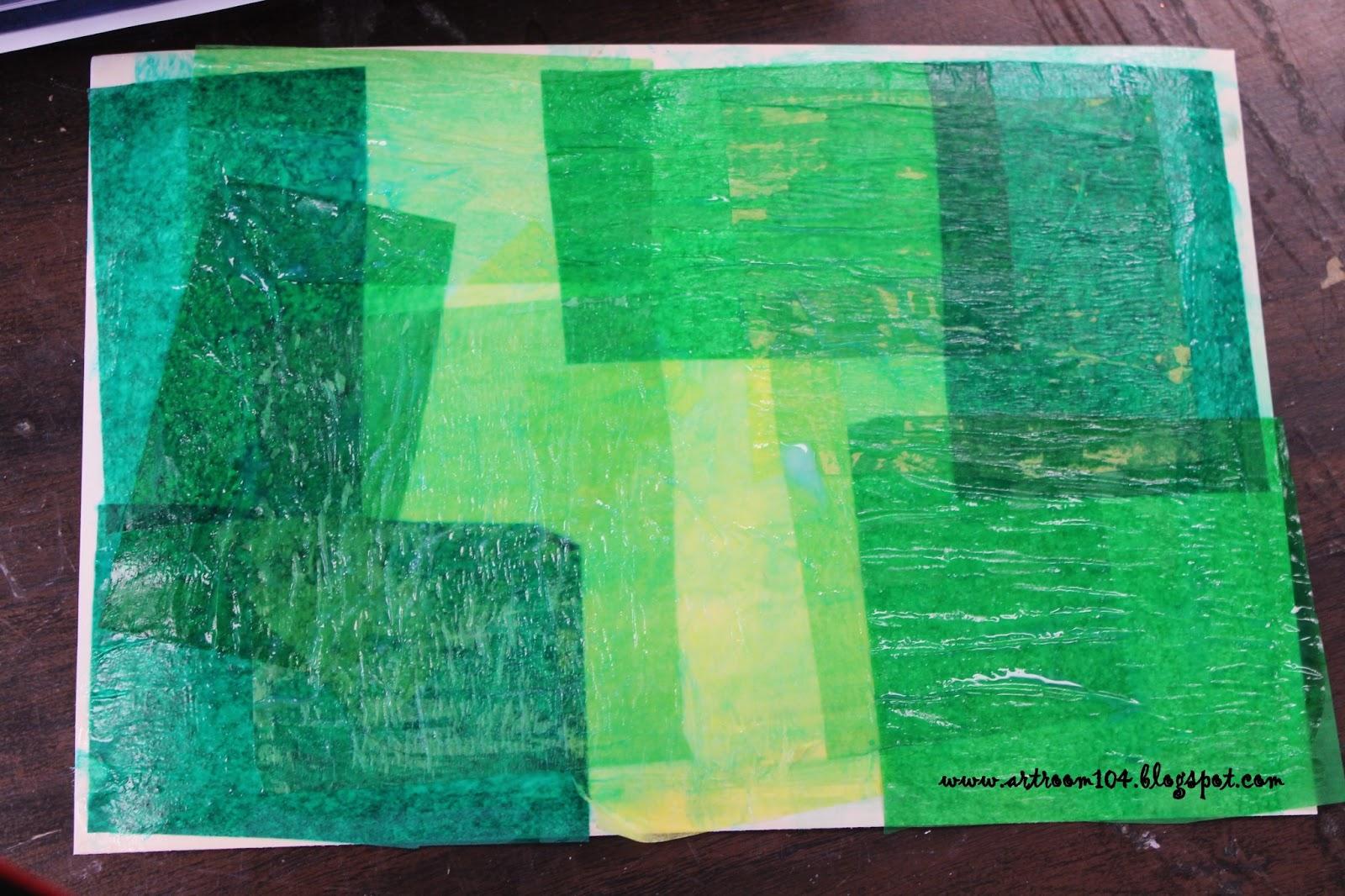 Art Room 104: YAM 1st Grade: Monet\'s Pond