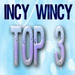 I made it to TOP 3 at Incy Wincy; Add Texture Challenge