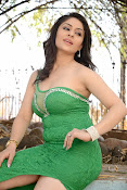 Ankita Sharma Hot photo shoto in Green-thumbnail-10