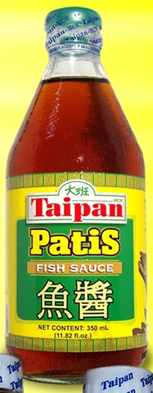 Fish sauce philippine patis liquid extracted from the for Fish sauce uses