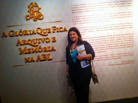 Na Academia Brasileira de Letras...