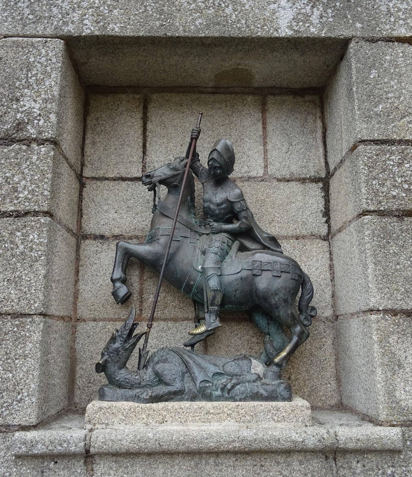 Extremos del Duero: San Jorge, protector ante las epidemias