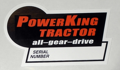 power king economy tractor restoration 2011 i bought new decals for my power king at serviceproparts com contents en us d4371 html