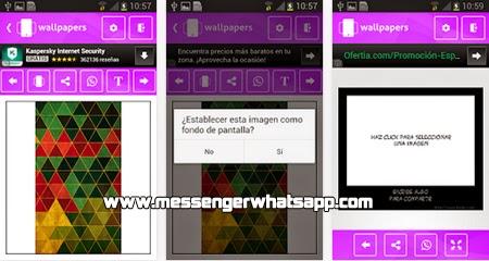 Agrega fondos bonitos y elegantes con Wallpapers HD for WhatsApp