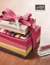 Livre d'idées et catalogue Stampin'up 2012-2013
