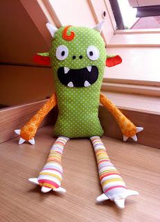 monster halloween pattern