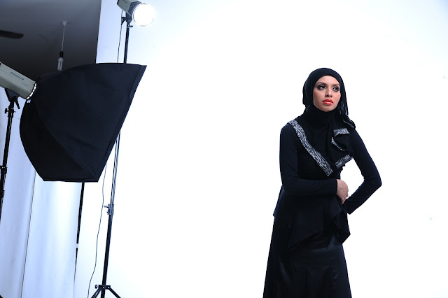 Top Agent Adibah Karimah photoshoot by photographer Hafiz Atan