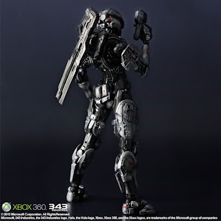 Squre Enix - Play Arts HALO 4 Sarah Palmer Figure
