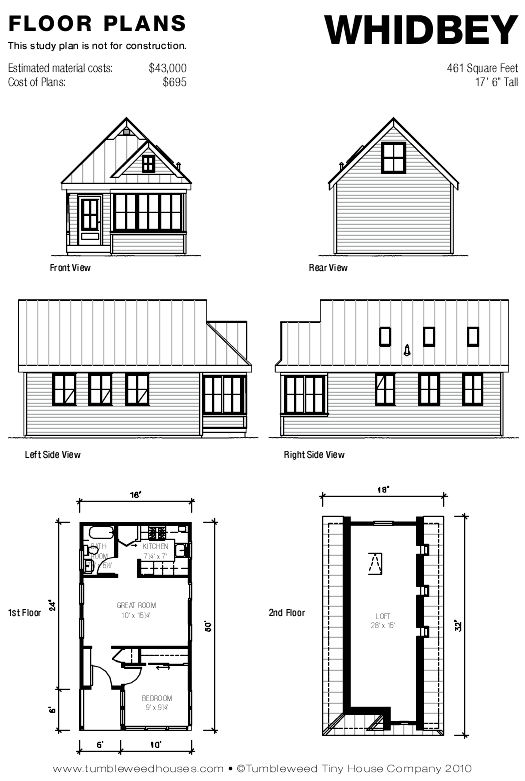 Whidbey house plans whidbey plans whidbey plans for Tumbleweed floor plans