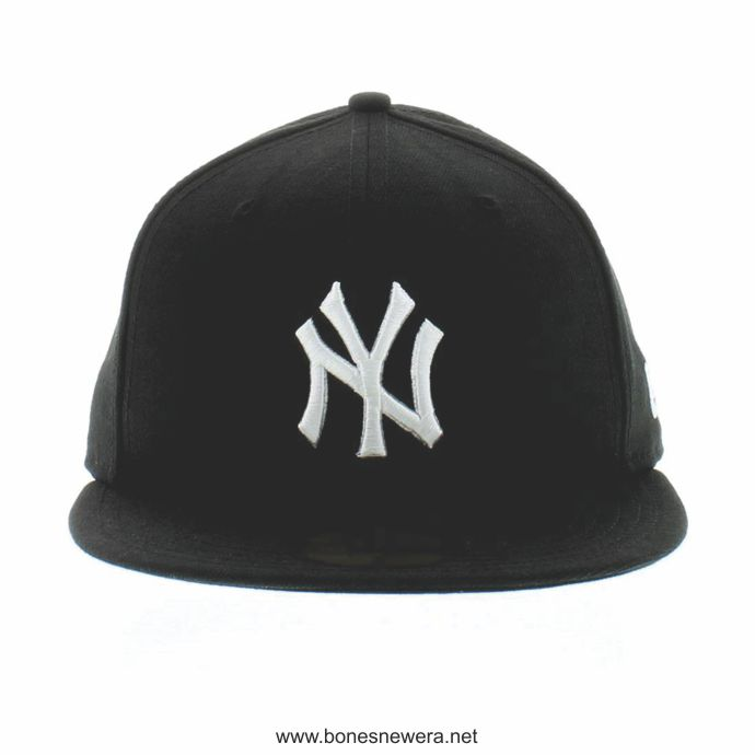 Boné New Era New York Yankees Preto 59FIFTY