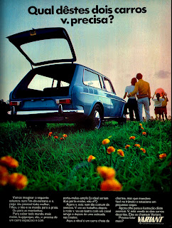propaganda Variant - 1971,  brazilian advertising cars in the 70s; os anos 70; história da década de 70; Brazil in the 70s; propaganda carros anos 70; Oswaldo Hernandez;.