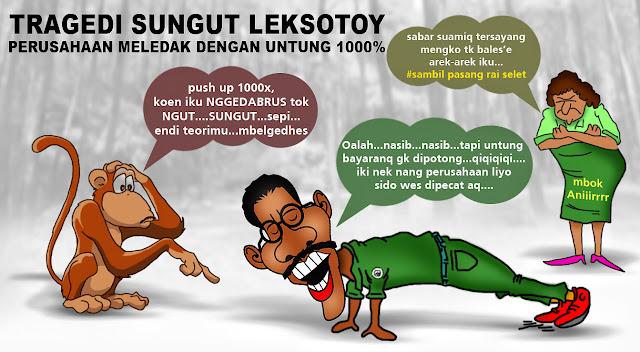 Om Bapak Berkumis Alay Indonesia