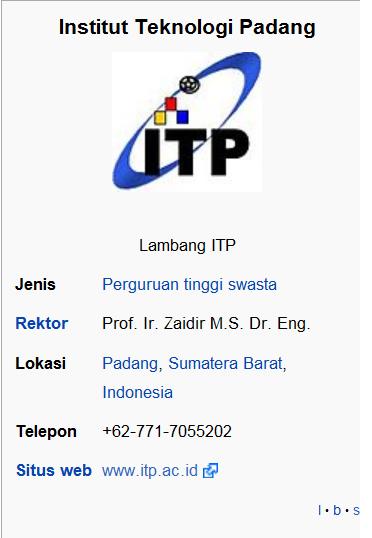Institut Teknologi Padang