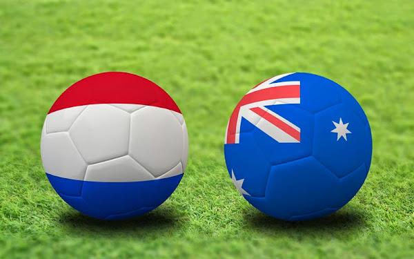 REPETICION SELECCIONES AUSTRALIA VS HOLANDA, Goles, Resultados, Estadisticas, Online