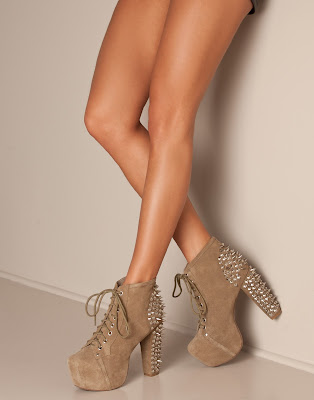 Shopping tip: Jeffrey Campbell lita spike show light brown.
