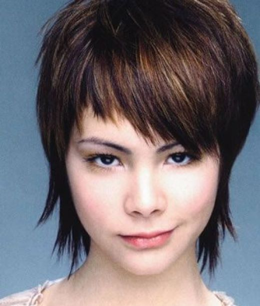 Short Hair Styles With Bangs