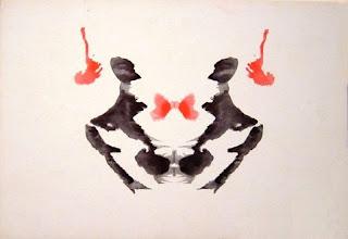 Test de Rorschach planche 3