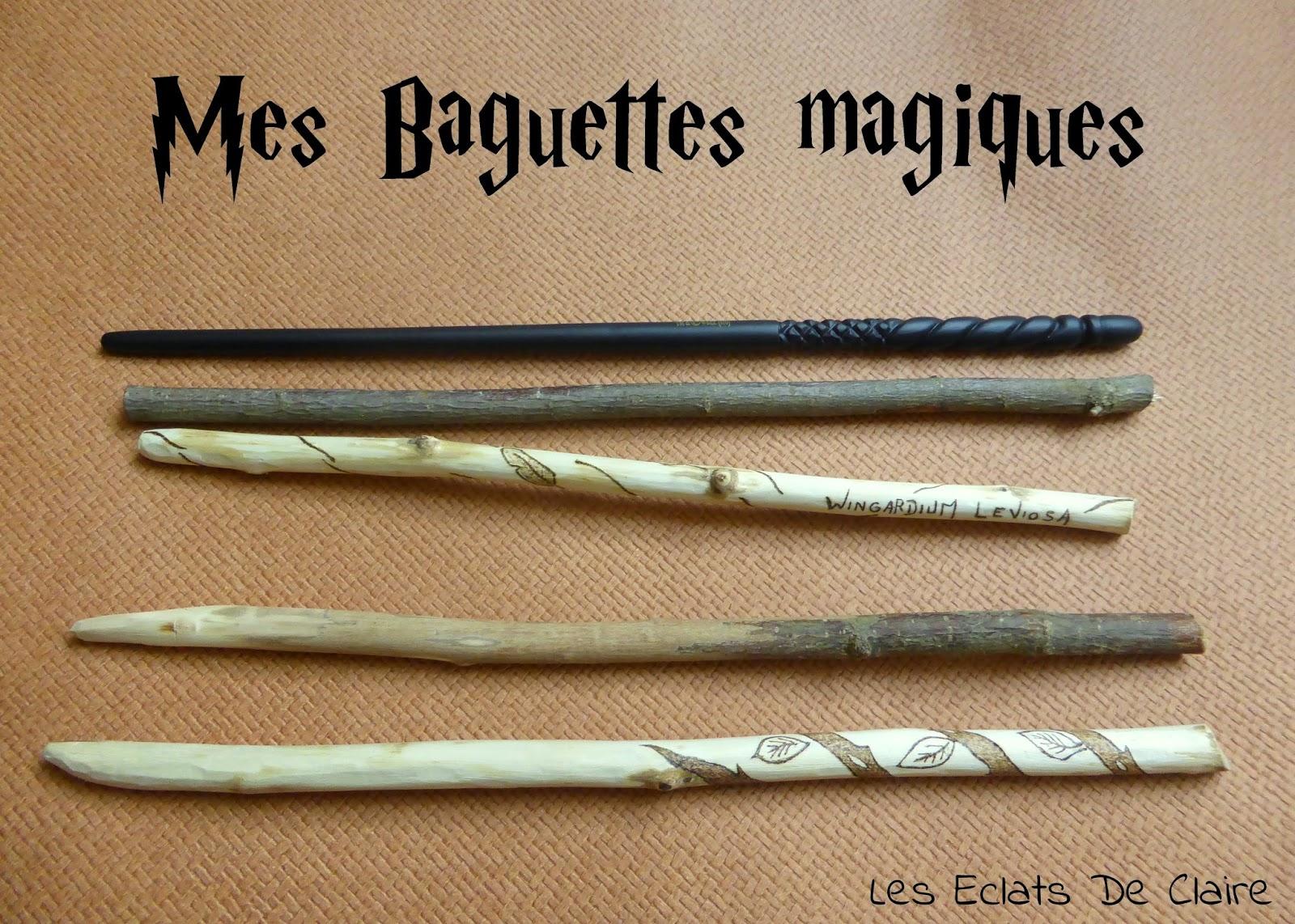 Claire Dans Tous Ses éclats Diy Mes Baguettes Magiques