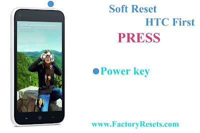 Soft Reset HTC First
