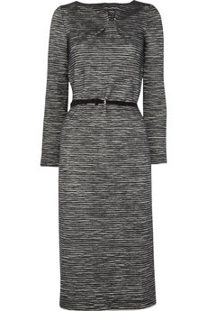 Lightweight wool-jersey dress