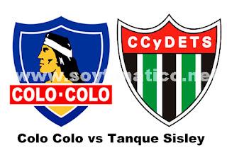 Colo Colo vs Tanque Sisley Copa Sudamericana 2013