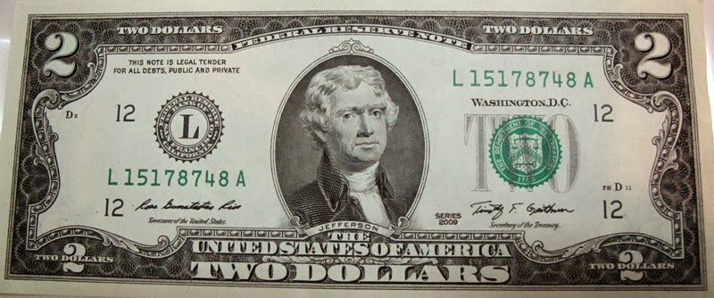 Jared Unzipped Your Two Dollar Bill Is Worth Two Dollars