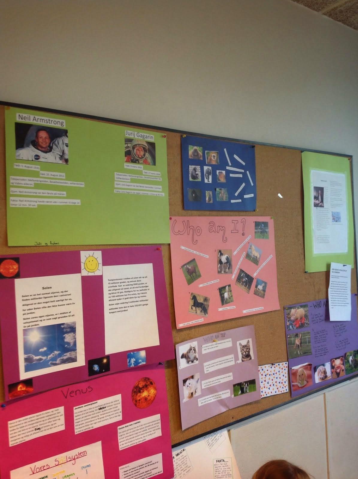 Elevernes egne plakater