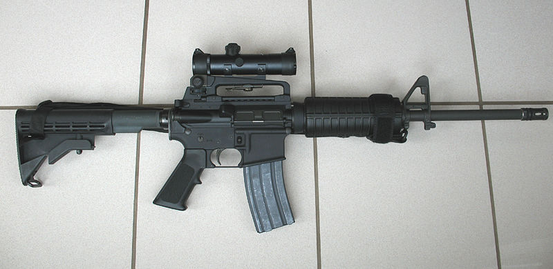 """Should the Right to Bear """"Arms"""" Include Military Assault Weapons?"""