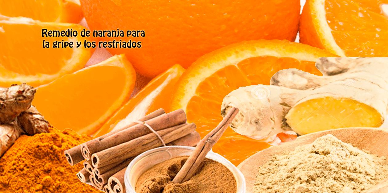 Remedio de naranja para la gripe y los resfriados - Web de