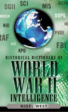 Cover of Historical Dictionary  of World War II Intelligence.