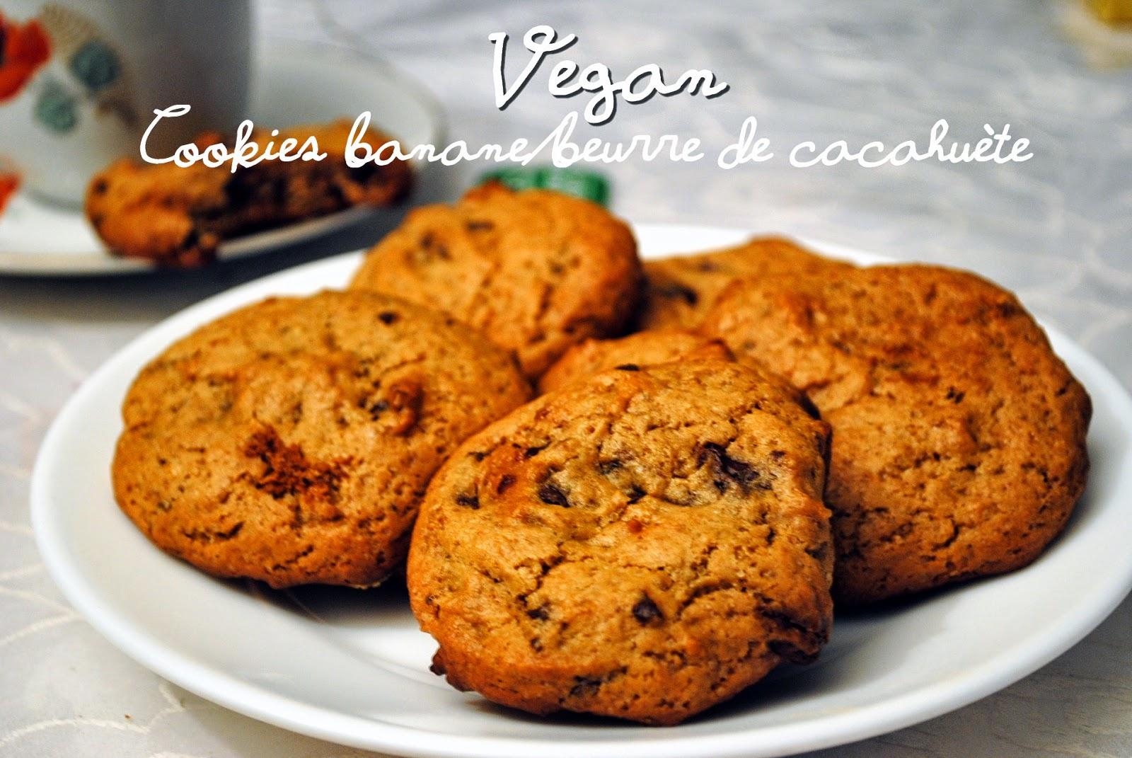 cookies vegan banane