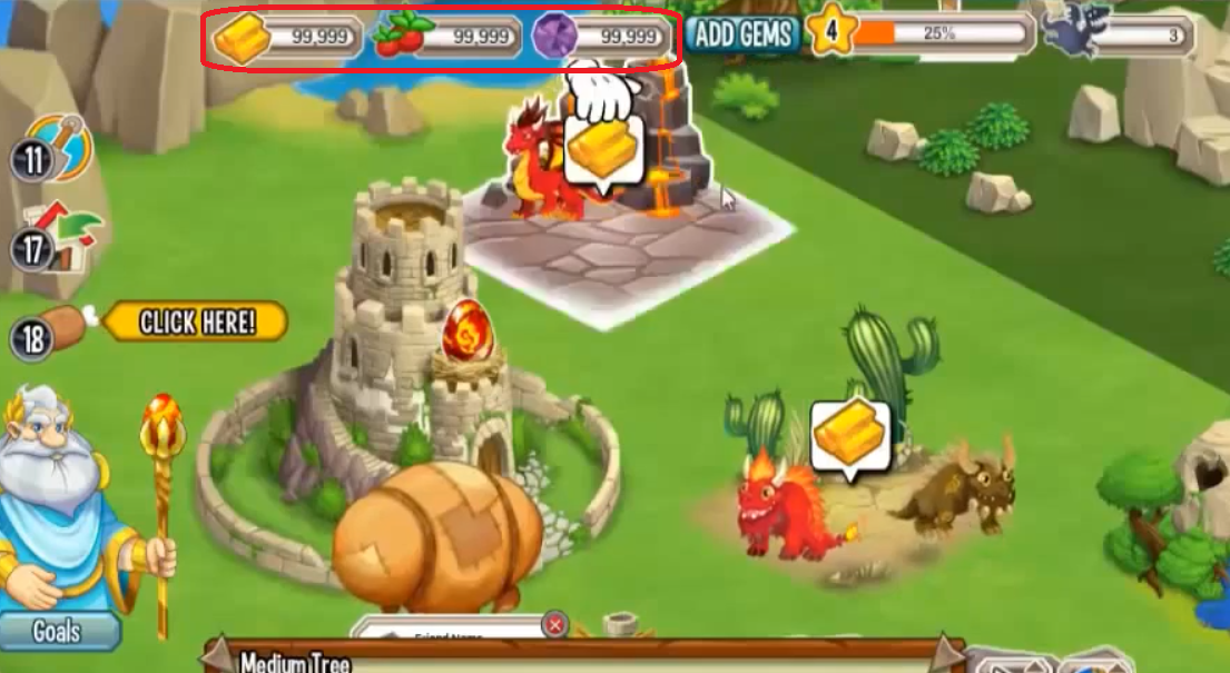 dragon city hacks and cheats