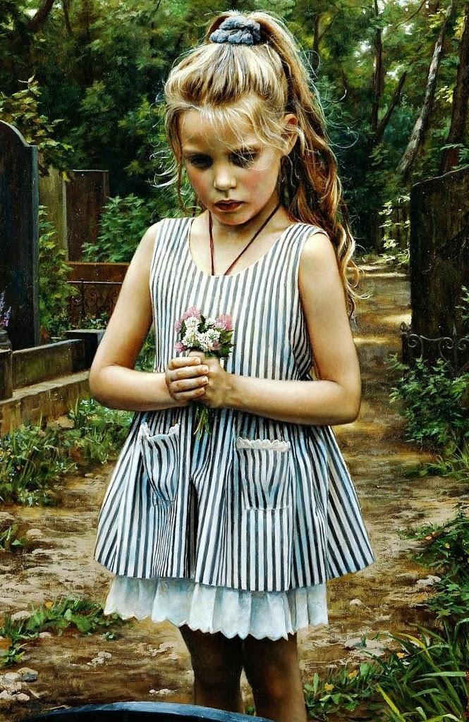 pinturas-realistas-de-niñas