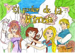"Portada ilustrada de ""El Poder de la Princesa''"